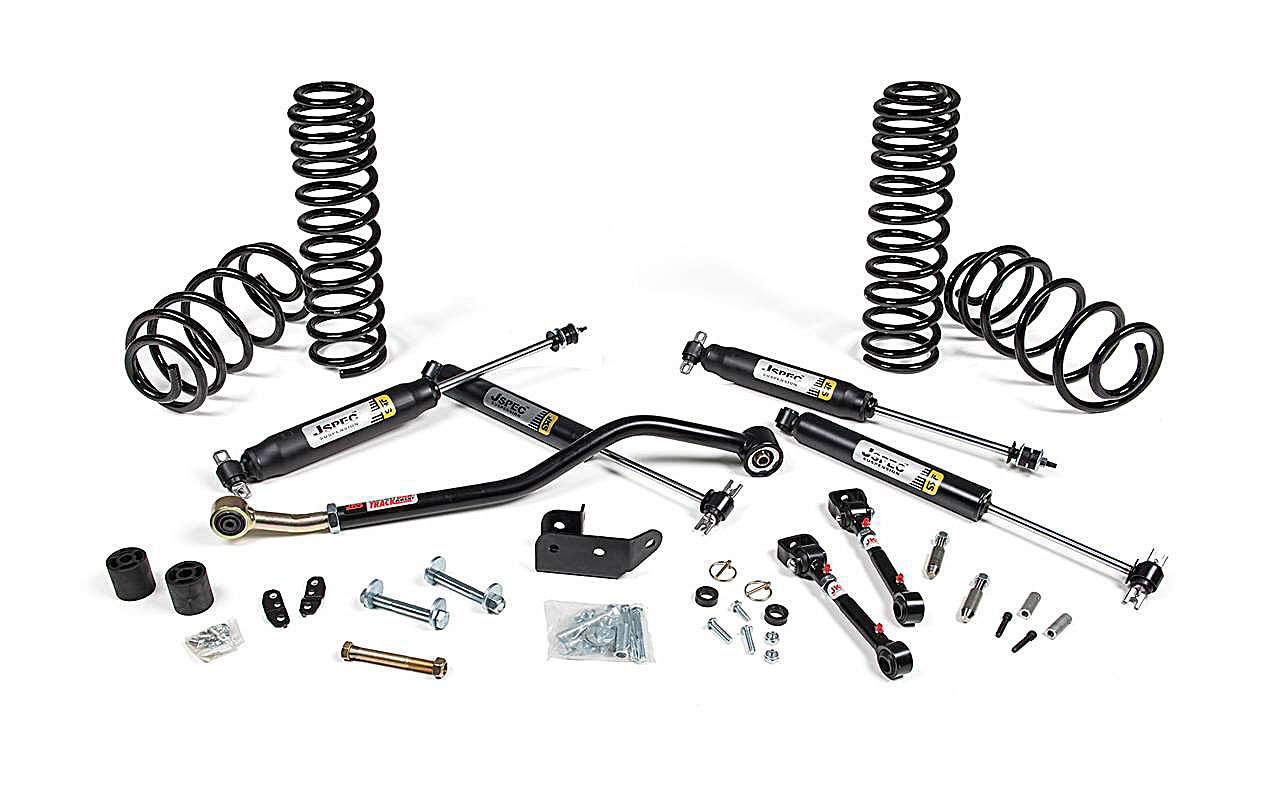 Jks Manufacturing Jspec110k Jspec 2 Suspension System For 97 06 Jeep Wrangler Amp Wrangler