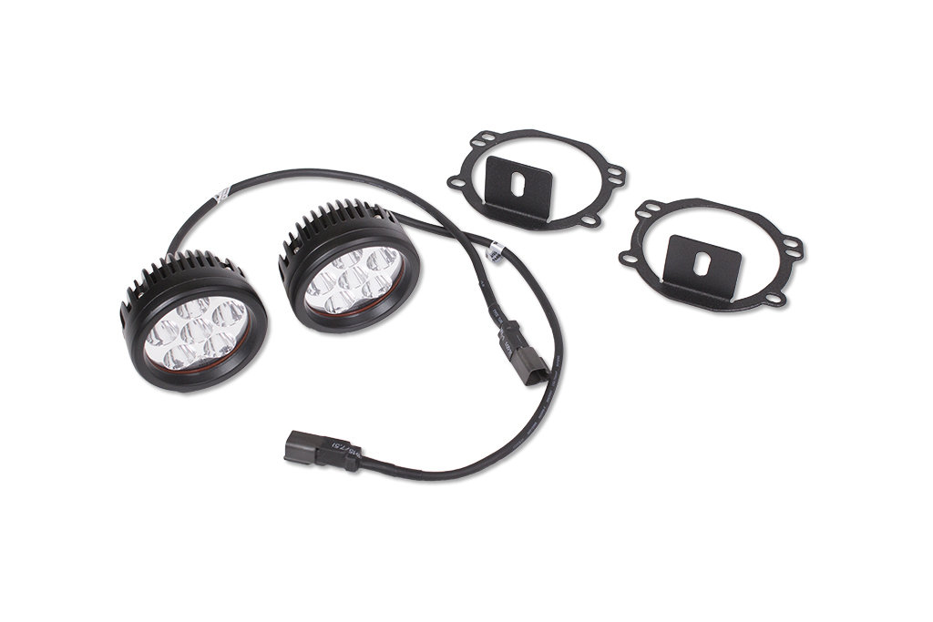 JCR Offroad JK-LEDFK LED Fog Light Replacement Kit for 07