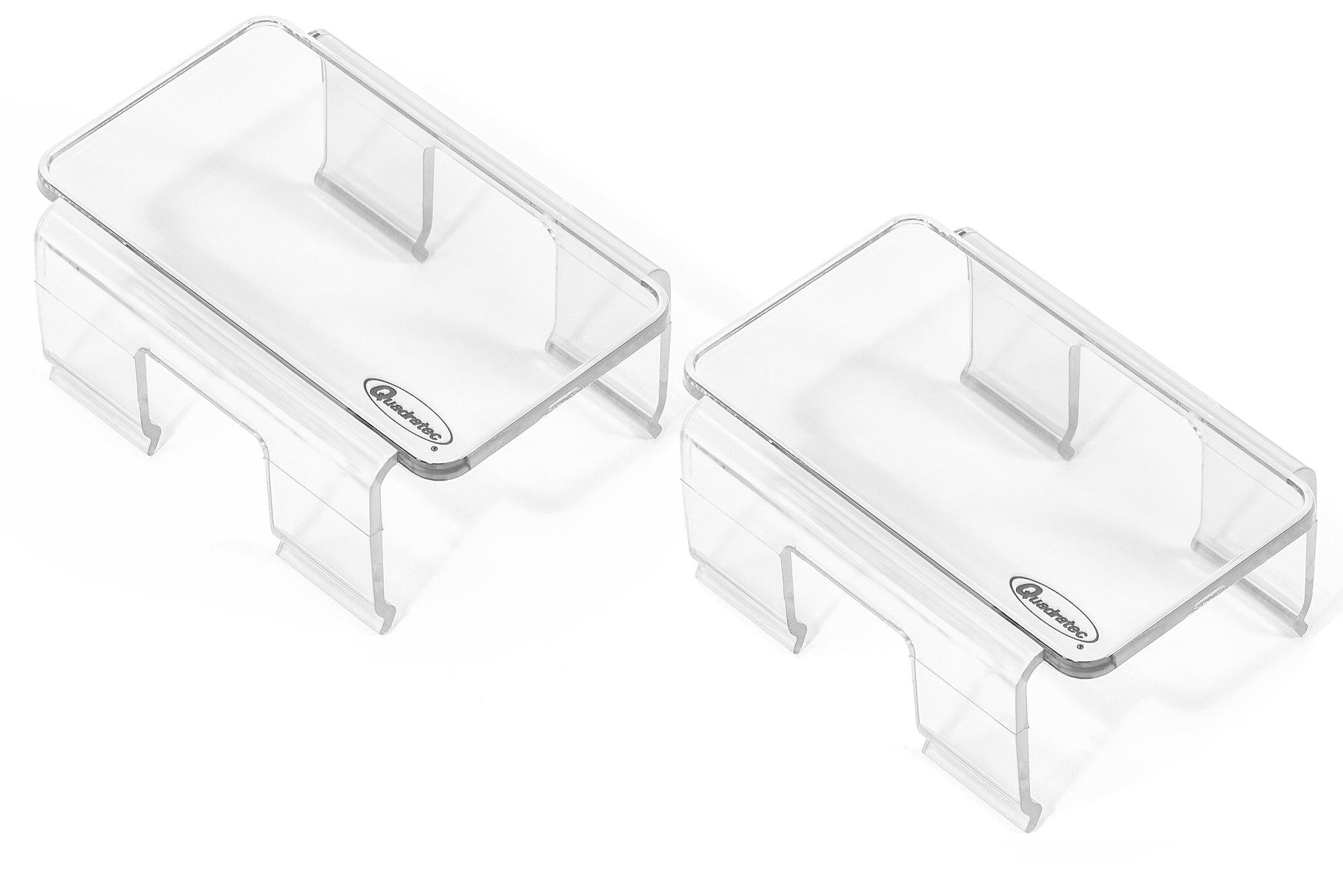 Quadratec Light Covers For 4 Rectangular Led Lights