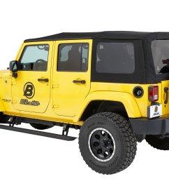 bestop 75652 15 powerboard nx wireless sidesteps for 07 18 jeep wrangler unlimited jk quadratec [ 2000 x 1333 Pixel ]