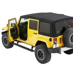 bestop 75652 15 powerboard nx wireless sidesteps for 07 18 jeep wrangler unlimited jk quadratec [ 2000 x 1335 Pixel ]