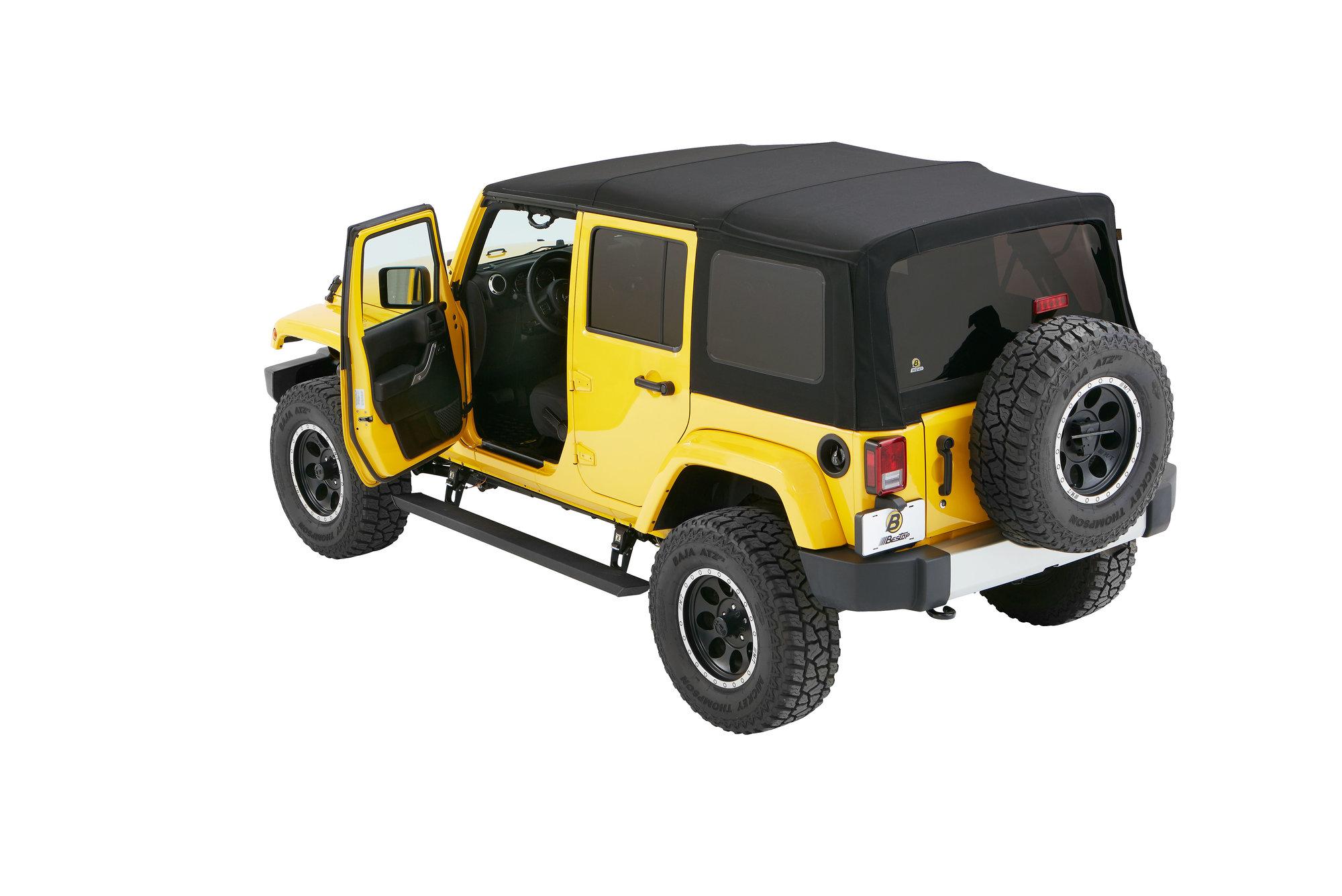 hight resolution of bestop 75652 15 powerboard nx wireless sidesteps for 07 18 jeep wrangler unlimited jk quadratec