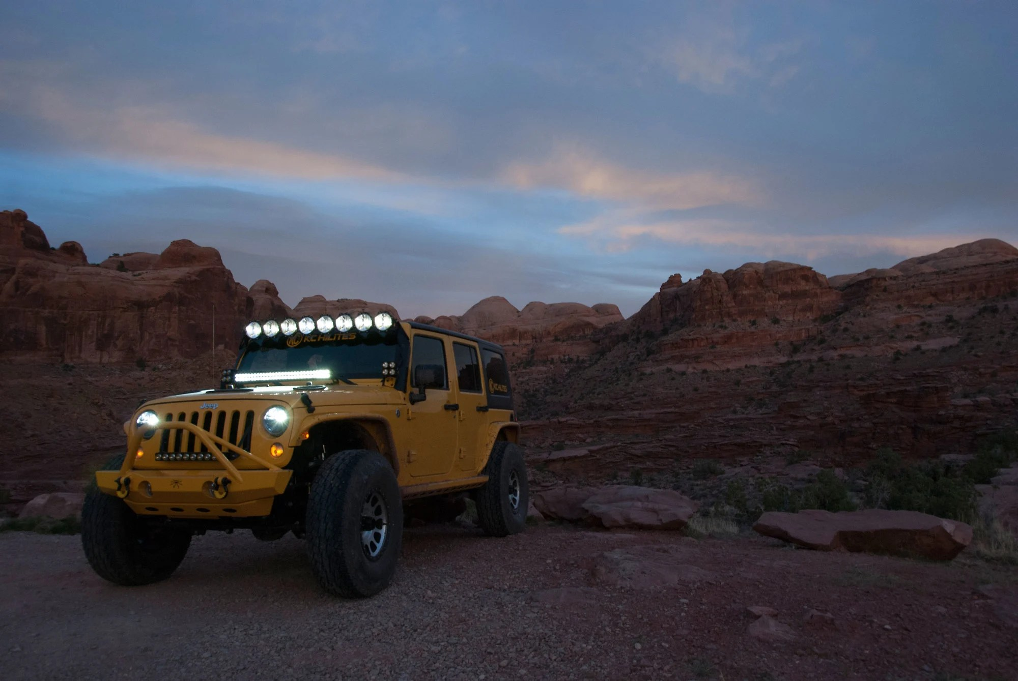 Led Light Bar Jeep