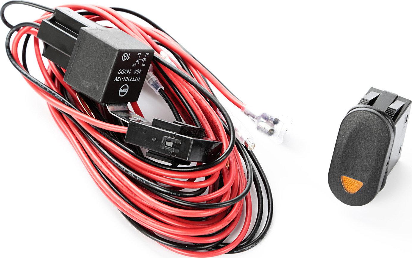 mk intermediate switch wiring diagram 94 jeep cherokee rugged ridge 15210 74 light harness kit quadratec