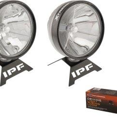 Ipf Spotlight Wiring Diagram Strat Arb Xtreme Led Sport Light Kit Quadratec