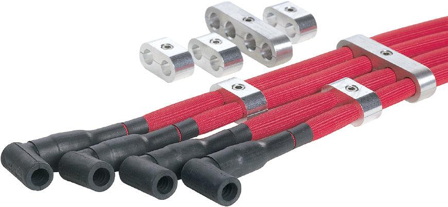 Plug Wire Separators Spark Aluminum