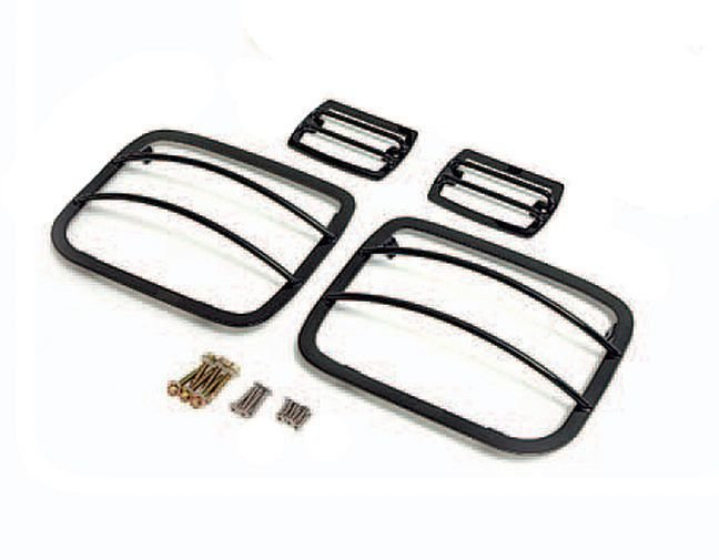 Rampage Products Euro-Style Front & Rear Light Guards for