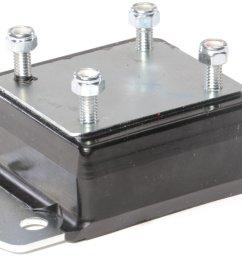 daystar kj01010bk 1 1 2 transmission mount in black for 84 01 [ 2000 x 1276 Pixel ]