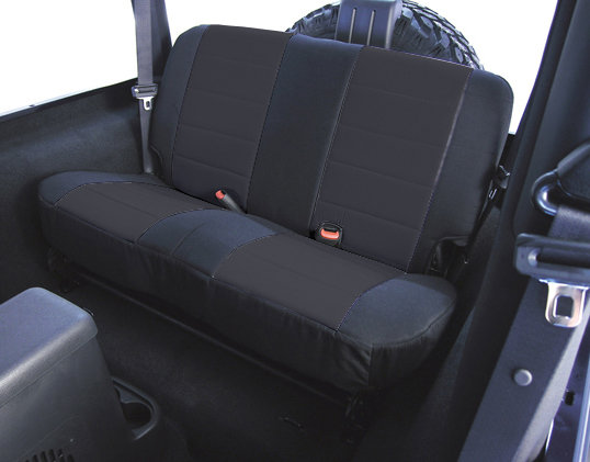 Rugged Ridge Fabric Custom Fit Rear Seat Cover For 80 95
