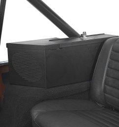 tuffy 015 01 security speaker safe in black for 80 91 jeep cj wrangler yj quadratec [ 1500 x 1500 Pixel ]