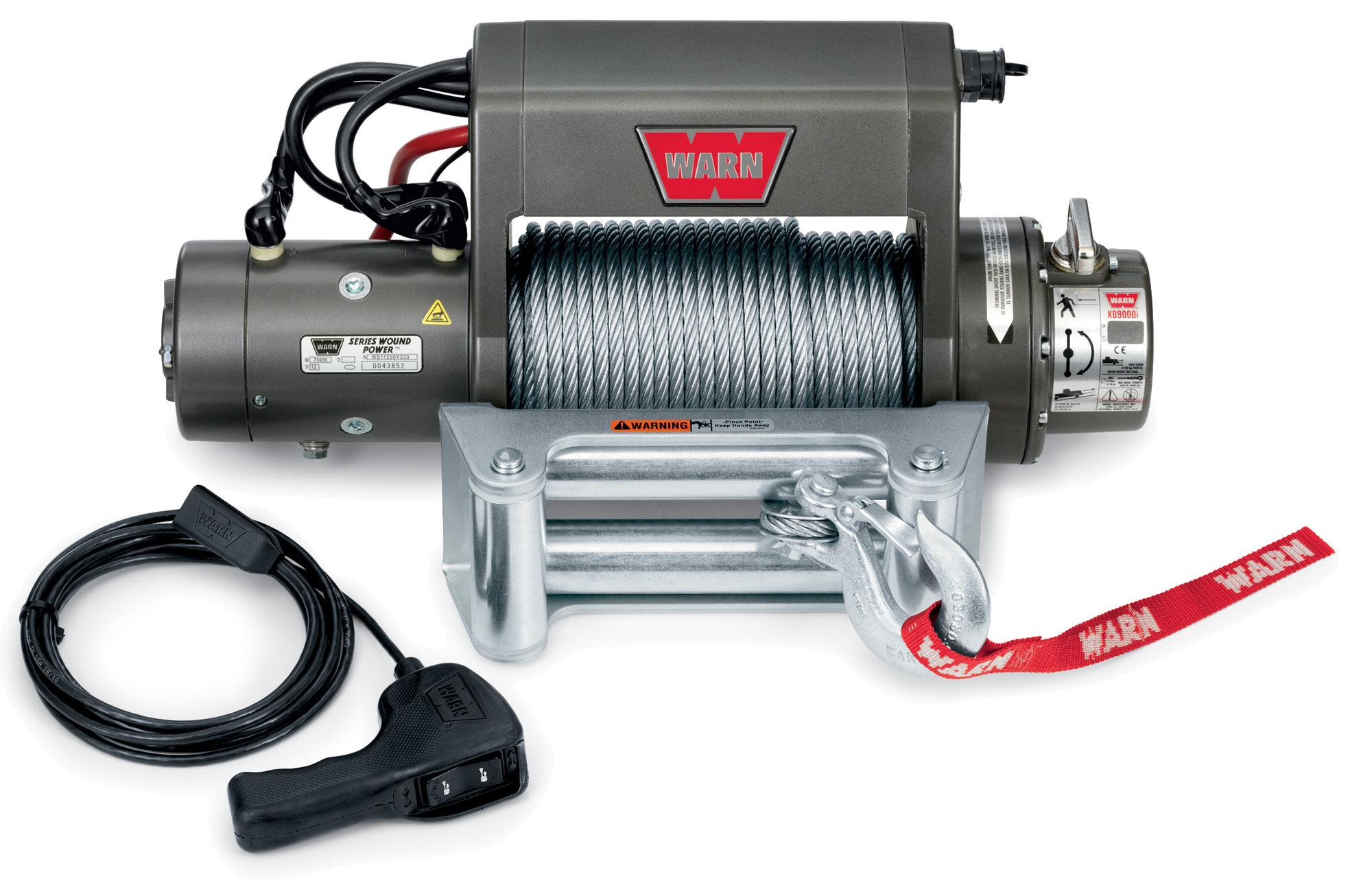 warn winch yamaha golf cart solenoid wiring diagram 27550 xd9000i self recovery quadratec