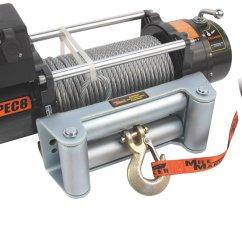 Mile Marker Winch Wiring Diagram 1988 Yamaha Moto 4 350 77 50140 Pec8 Electric Quadratec