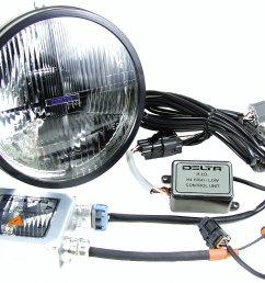 delta tech 01 1199 hid2 h4 hid 7 headlight kit for 97  [ 1184 x 887 Pixel ]