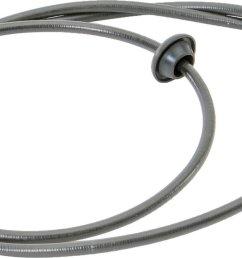 crown automotive j5351776 speedometer cable for 76 79 jeep cj 5 u0026 cjthe quadratec  [ 2000 x 624 Pixel ]