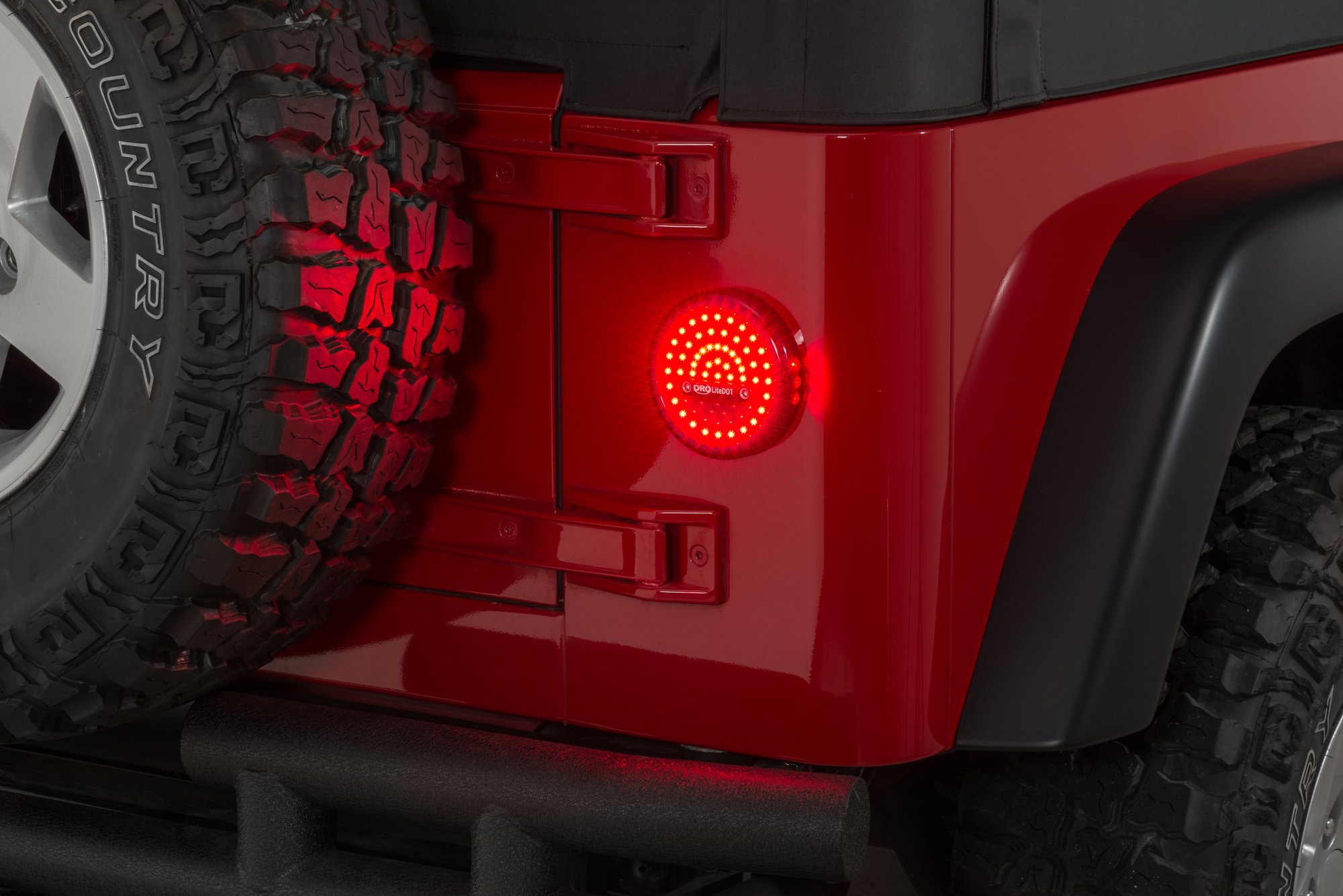 Off Road Only LDRRW2 LiteDOT Taillights for 7606 Jeep