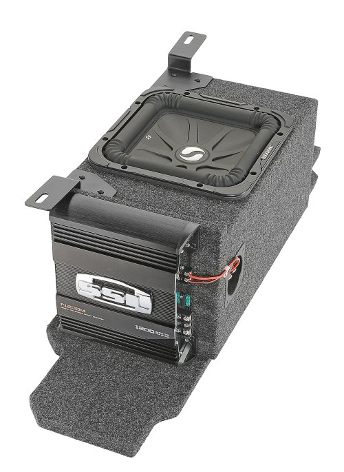 small resolution of kicker custom rear subwoofer kit with 10 kicker solo baric l7 subwoofer for 03 06 jeep wrangler tj quadratec