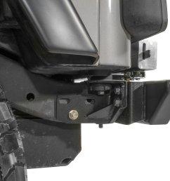rock hard 4x4 rh2001 cj rear bumper heavy duty frame kit for 76 86 jeep cj quadratec [ 2000 x 1609 Pixel ]