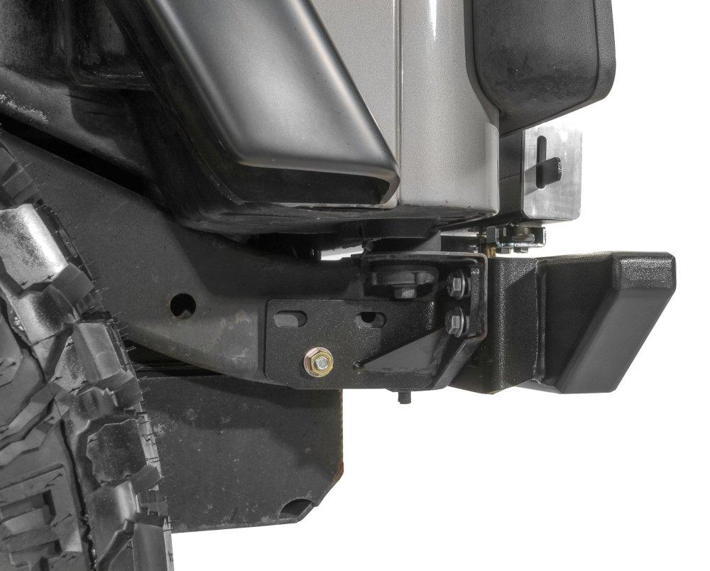 medium resolution of rock hard 4x4 rh2001 cj rear bumper heavy duty frame kit for 76 86 jeep cj quadratec