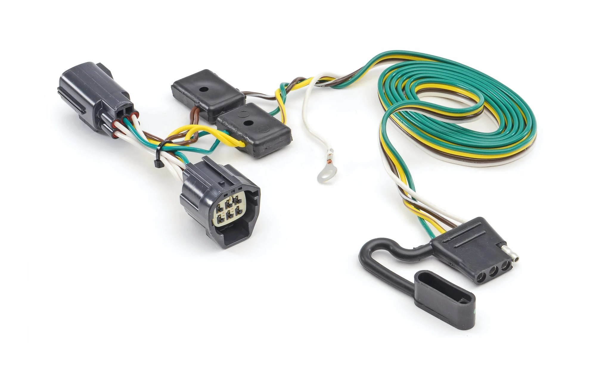 hight resolution of hidden hitch 118416 t one hitch wiring kit for 07 18 jeep wranglerthe quadratec difference