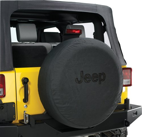 small resolution of mopar jeep logo tire covers in black denim with black jeep logo