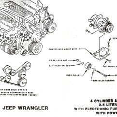1995 Jeep Wrangler Wiring Diagram 2001 Ford Econoline Radio Engine For 4 Toyota Tundra