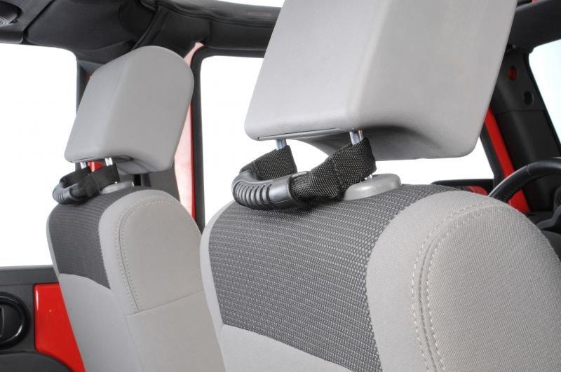 Rugged Ridge Rear Seat Grab Handles For 07 19 Jeep