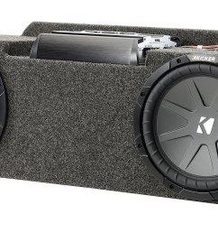 quadratec custom rear dual subwoofer kit with 10 kicker compvr 1999 jeep wrangler heater 2003 jeep wrangler subwoofer wiring harness  [ 2000 x 951 Pixel ]