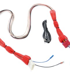 wiring harness extension for 87 95 jeep wrangler yj with stereo console the quadratec difference [ 2000 x 1594 Pixel ]