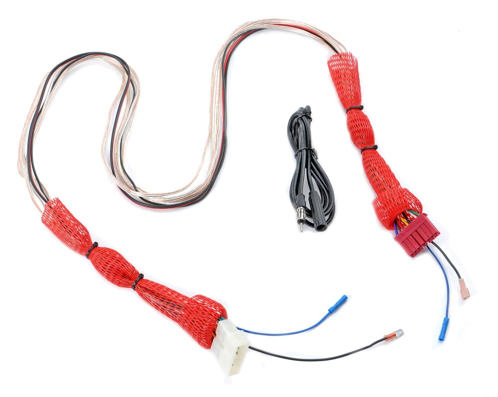 medium resolution of  wiring harness extension for 87 95 jeep wrangler yj with stereo console the quadratec difference