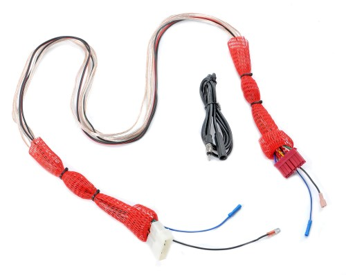 small resolution of  wiring harness extension for 87 95 jeep wrangler yj with stereo console the quadratec difference