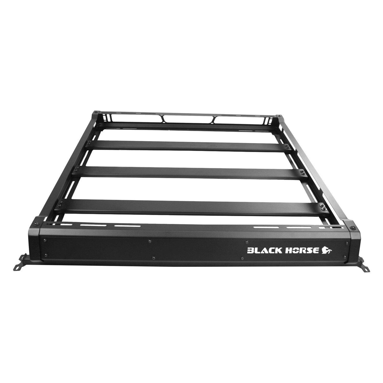 black horse offroad ba jkdr traveler roof rack for 07 18 jeep wrangler jk unlimited 4 door