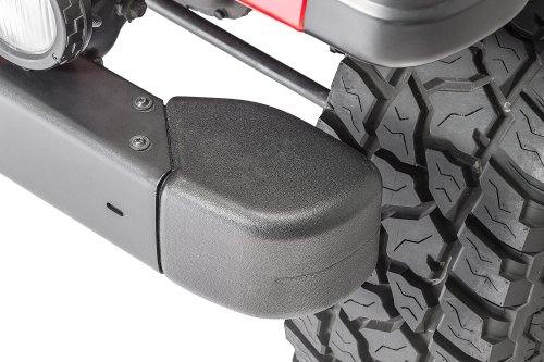 small resolution of mopar front bumper guard crown automotive end cap kit for 98 06 jeep wrangler tj quadratec