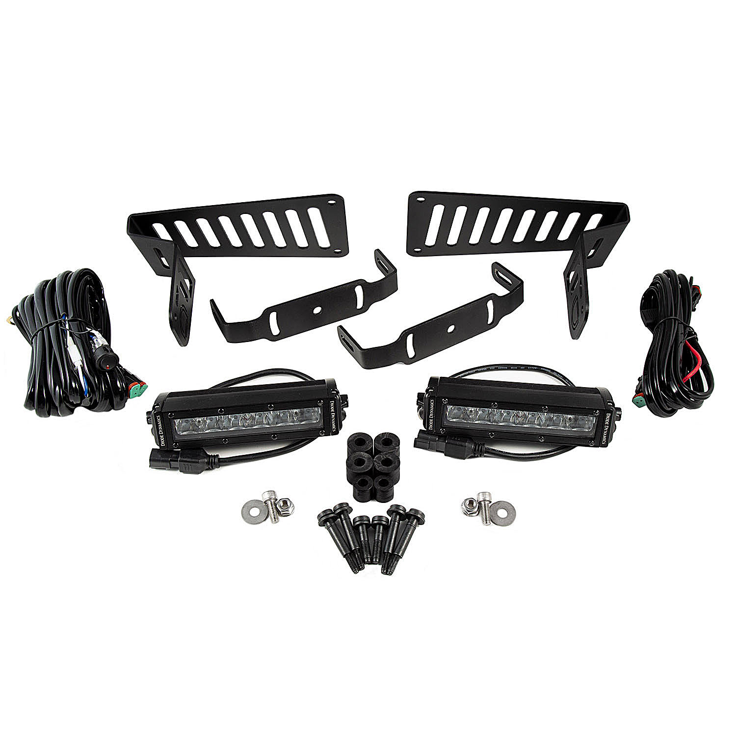 Diode Dynamics Cowl Mounted Led Light Bar Kit For 18 19