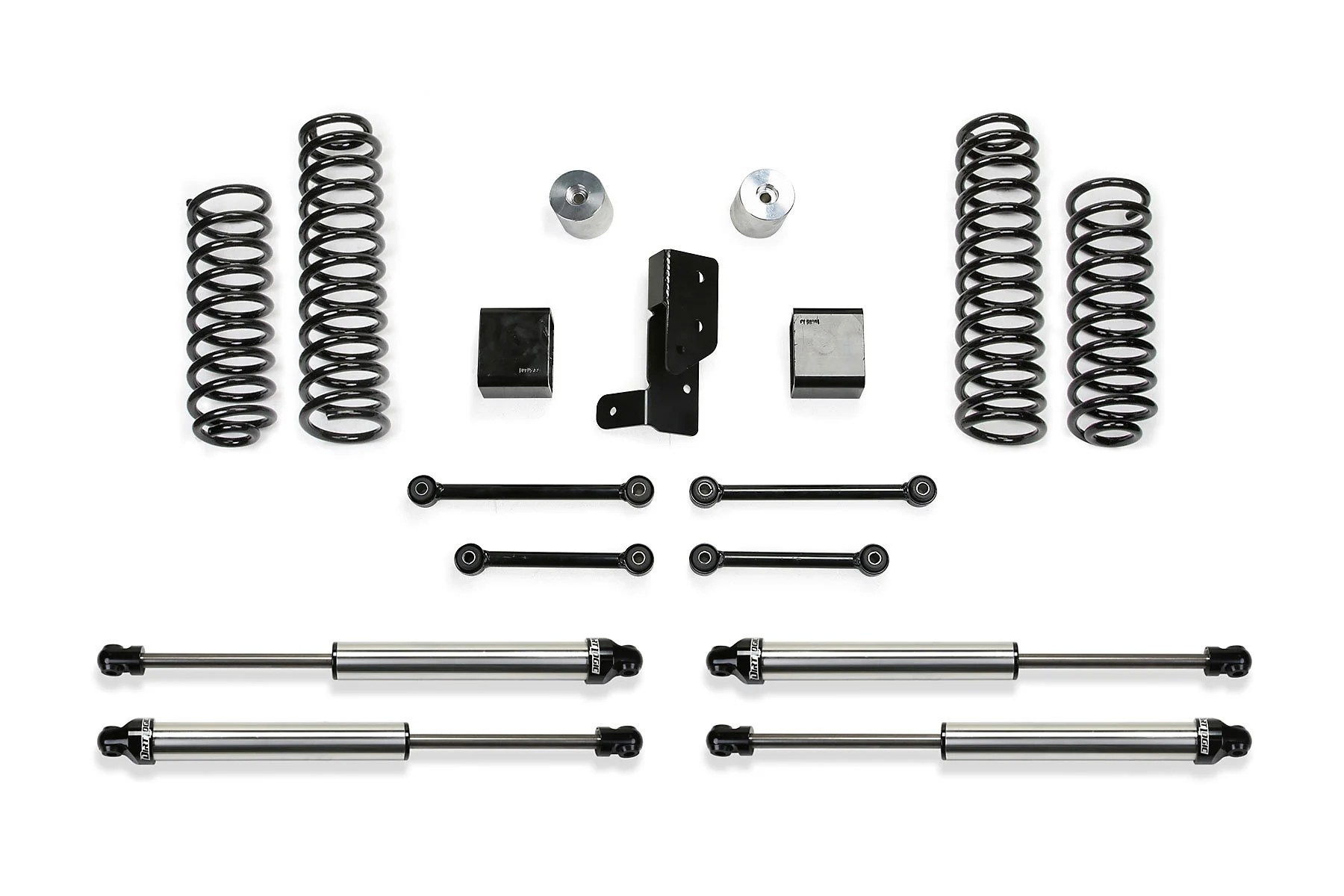 Fabtech 3 Sport Lift Kit With Dirt Logic 2 25 Shocks For