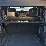 Fabtech Fts24211 Interior Cargo Rack For 18 20 Jeep Wrangler Jl Unlimited With Hardtop Quadratec