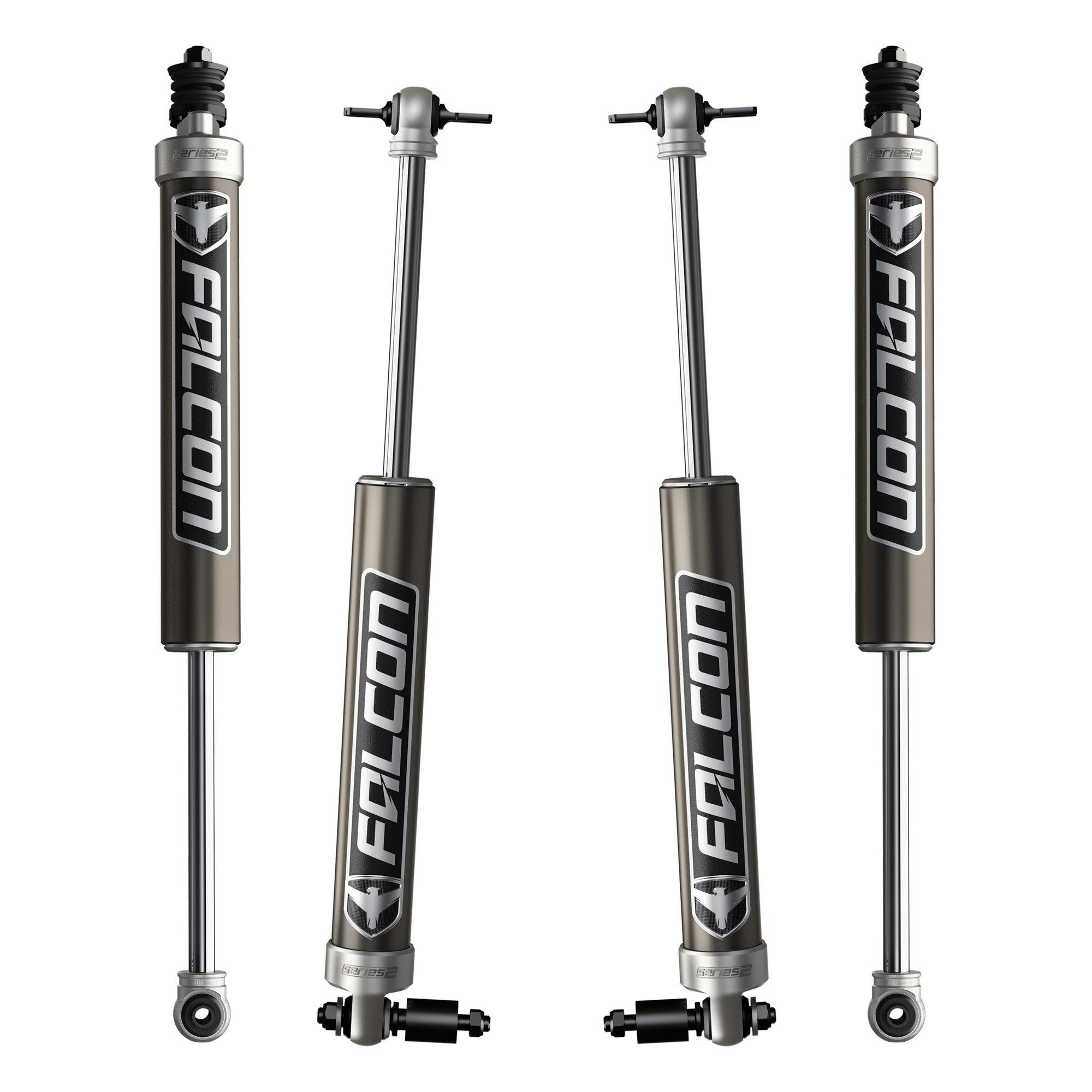 Teraflex Falcon Series 2.1 Sport Monotube Shock Kit for 07