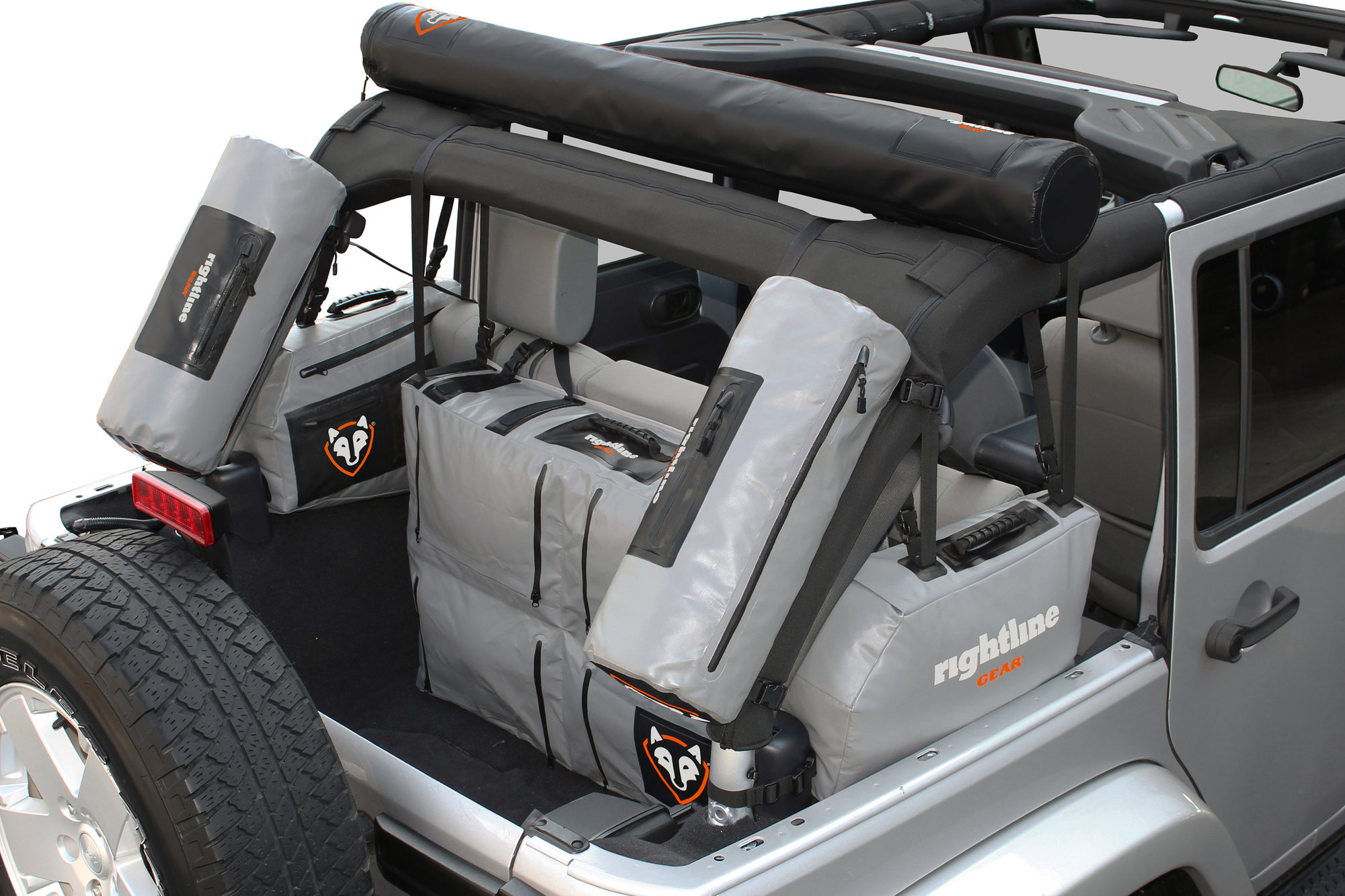 Rightline Gear 4x4 Side Storage Bags For 07 17 Jeep