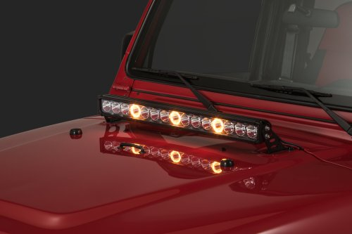 small resolution of quadratec j3 led 28 light bar with hood mount brackets and wiring for 97 06 jeep wrangler tj unlimited quadratec