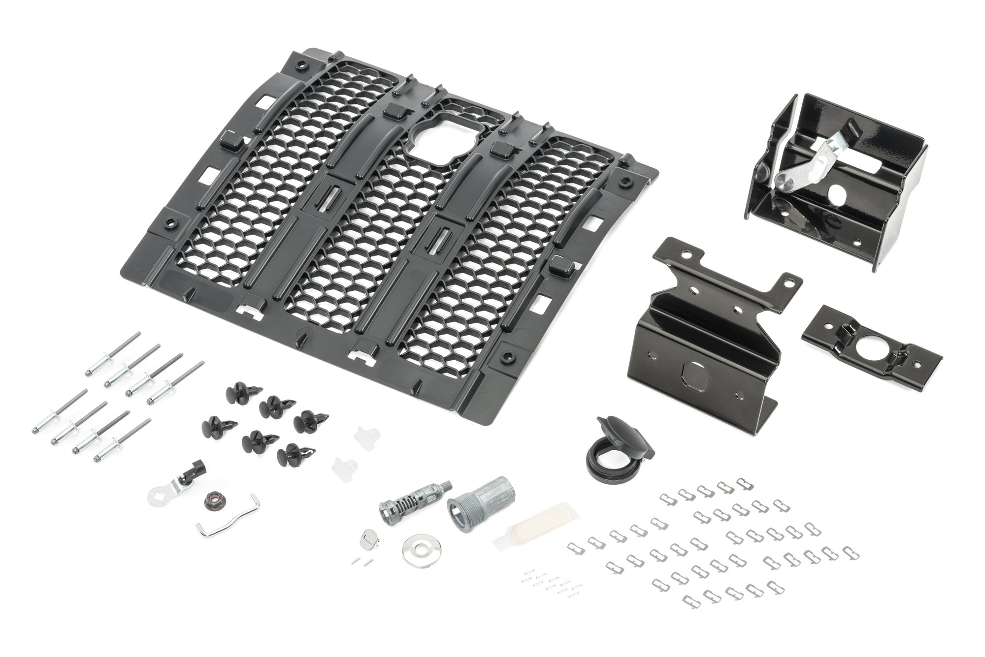 Mopar 82215137 Hood Lock Kit for 18-20 Jeep Wrangler JL