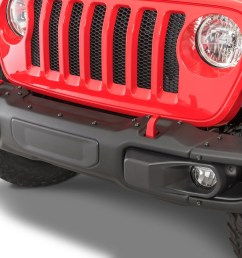 mopar 82215121ab 3 piece rubicon front bumper for 18 19 jeep wrangler jl 2020 gladiator jt quadratec [ 2000 x 1335 Pixel ]