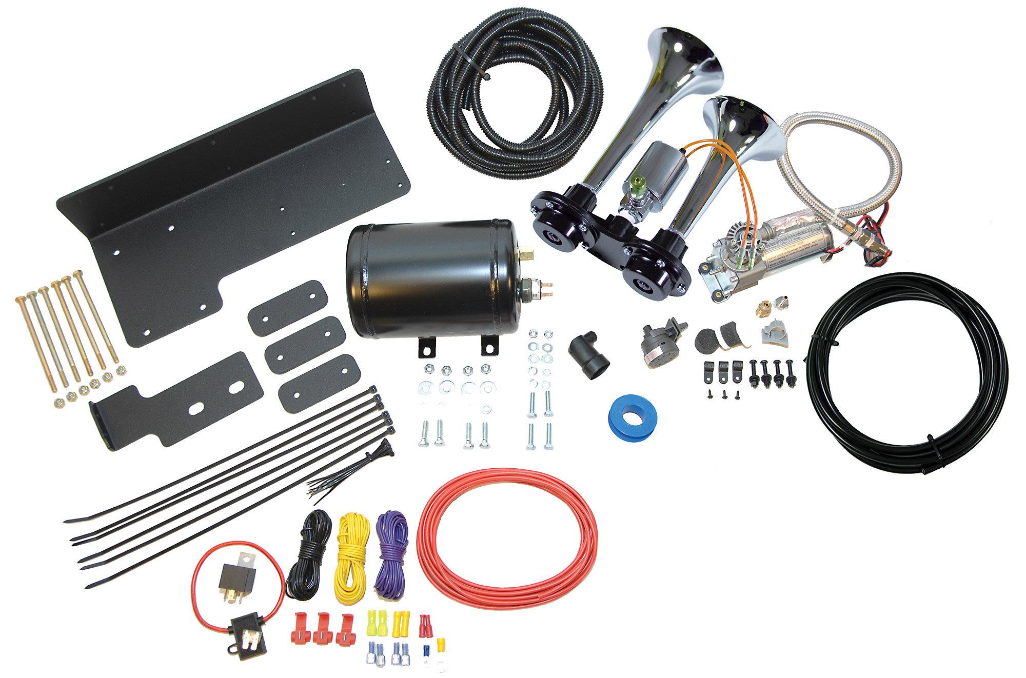1998 jeep wrangler horn wiring diagram ford f150 starter solenoid kleinn air horns trail blaster kit for 07 18