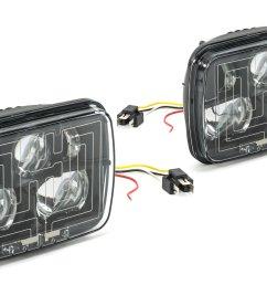 j w speaker 8910 evolution 2 heated led headlight kit for 84 01 jeep wrangler yj cherokee xj comanche mj quadratec [ 2000 x 1335 Pixel ]