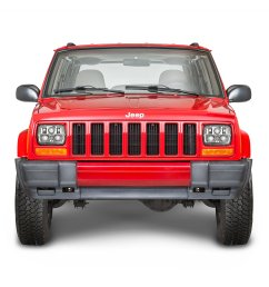 j w speaker 8900 evolution 2 led headlight kit for 84 01 jeep wrangler yj cherokee xj comanche mj quadratec [ 2000 x 1335 Pixel ]