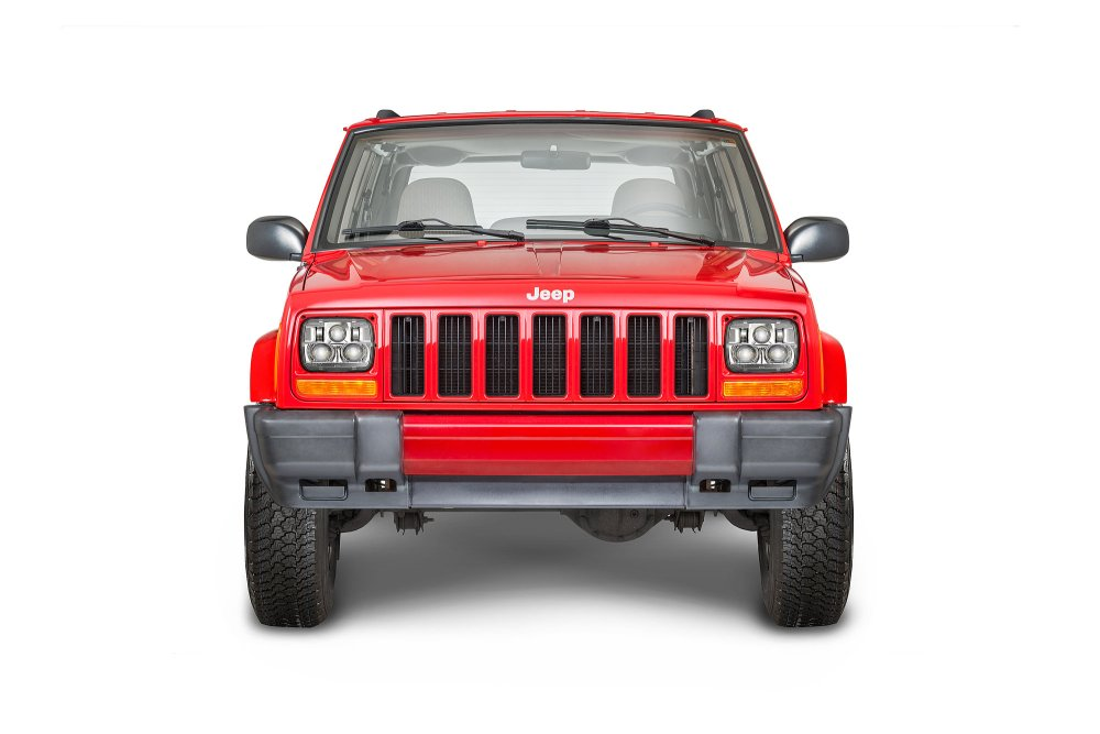 medium resolution of j w speaker 8900 evolution 2 led headlight kit for 84 01 jeep wrangler yj cherokee xj comanche mj quadratec