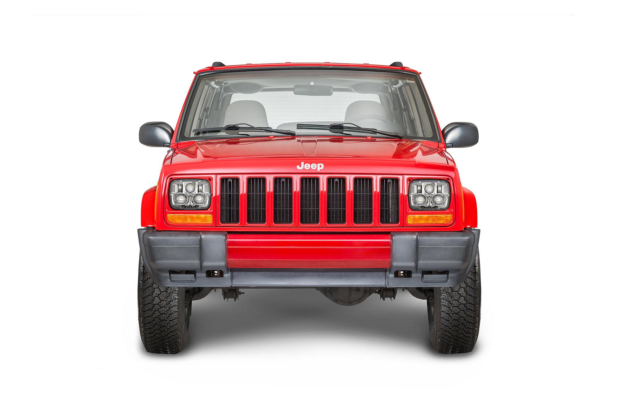 hight resolution of j w speaker 8910 evolution 2 heated led headlight kit for 84 01 jeep wrangler yj