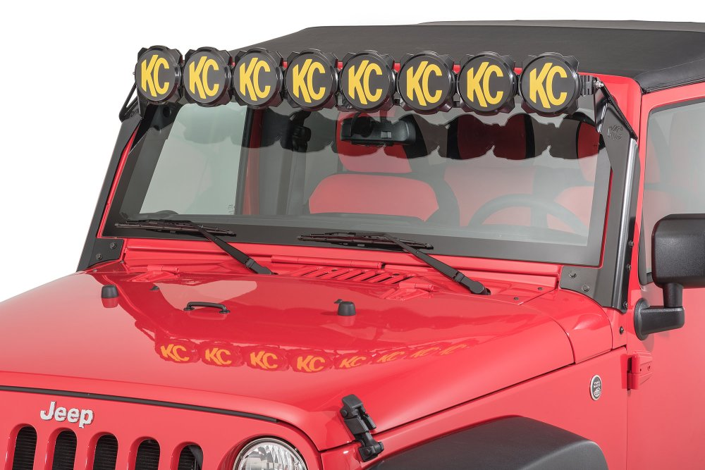 medium resolution of kc hilites 91313 gravity pro6 led light bar for 07 18 jeep wranglerkc hilites 91313 gravity