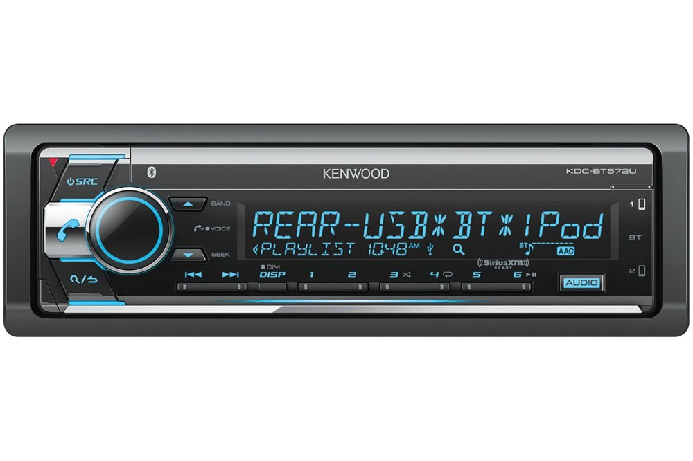 medium resolution of kenwood kdc bt572u cd receiver with bluetooth previous next
