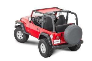 MasterTop ShadeMaker Mesh Bimini Top for 9706 Jeep