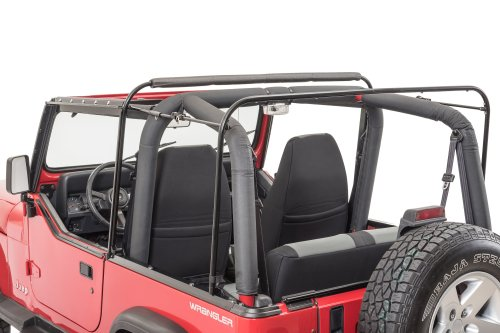 small resolution of mastertop 15433101 factory replacement soft top bow assemblies for wrangler yj frame dimensions on 2001 jeep wrangler 4 0 belt diagram