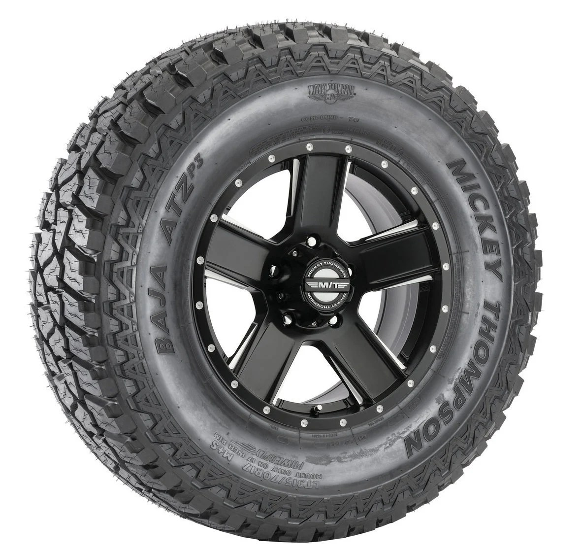 hight resolution of mickey thompson baja atzp3 radial tire on sd 5 wheel for 07 18 jeep